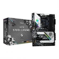 ASRock,AMD,Ryzen,X570,Steel,Legend,AM4,PCIe,4.0,ATX,Motherboard,