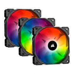 Corsair,SP120,iCUE,Addressable,RGB,PRO,120mm,3,Fan,+,Lighting,Node,CORE,Pack