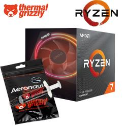 AMD,Ryzen,7,3800X,Gen3,8,Core,AM4,CPU+,FREE,THERMAL,GRIZZLY!,