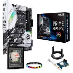 ASUS,AMD,Ryzen,PRIME,X570,PRO,AM4,PCIe,4.0,ATX,Motherboard,+,FREE,ASUS,AC1200,WiFi,Adapter,and,ROG,Addressable,LED,Strip