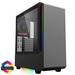 GameMax,Panda,Black,ARGB,Windowed,Mid,Tower,PC,Gaming,Case,