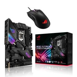 ASUS,Intel,Z490,ROG,STRIX,Z490-E,GAMING,ATX,Motherboard,+,FREE,ASUS,ROG,Gladius,II,Core,Mouse!,