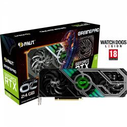 PALIT,GeForce,RTX,3090,GAMING,PRO,OC,24GB,Graphics,Card,+,GeForce,RTX,30,Series,Bundle