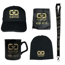 Official,Gladiator,Merchandise,Bundle