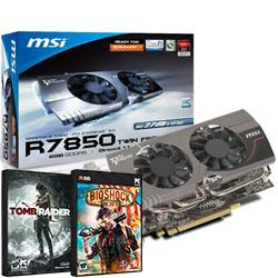 MSI,Twin,Frozr,Radeon,HD,7850,OC,2048MB,GDDR5,Graphics,Card,+,2,FREE,GAMES!,