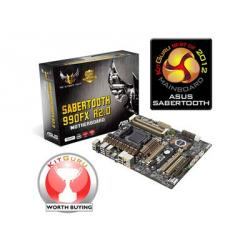 ASUS,SABERTOOTH,990FX,R2.0,AMD,990FX,(Socket,AM3+),ATX,Motherboard,