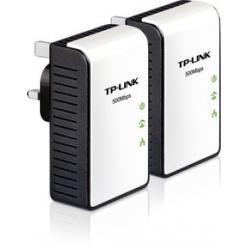 TP-Link,TL-PA411KIT,500Mbps,Mini,Powerline,Adapter,-,Twin,Pack,
