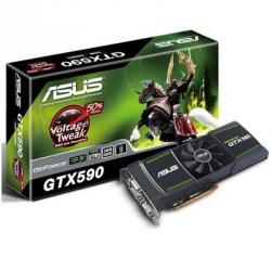 ASUS,Geforce,GTX,590,3072MB,GDDR5,PCI-Express,Graphics,Card,