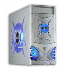 X-Blade,MIDI,Tower,Case,-,Silver,