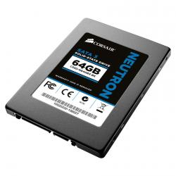 "Corsair,Neutron,64GB,(19nm),2.5"",SATA,6Gb/s,Solid,State,Hard,Drive,-,CSSD-N64GB3-BK,"