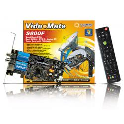 Compro VideoMate S800F Dual TV Tuner Card PCIe