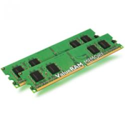 Kingston,2GB,(2x1GB),DDR2,PC2-6400C5,800MHz,Dual,Channel,Kit,