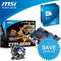 MSI,GD55,Intel,Z77,G530,Value,Bundle,