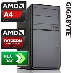 GLADIATOR,AMD,A4-4000,3.00,GHz,Richland,Dual-Core,Next,Day,Desktop,PC,