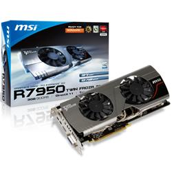 MSI,Twin,FrozR,Radeon,HD,7950,OC,3GB,GDDR5,Graphics,Card,[R7950,TF,3GD5/OC,BE],