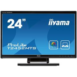 "Iiyama,Prolite,T2452MTS-B1,24"",Widescreen,Optical,Touch,LED,Monitor,-,Black,"