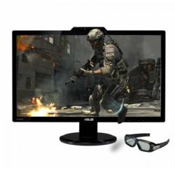 "27"",ASUS,VG278H,120Hz,3D,Widescreen,LED,Monitor,-,Black,w/,NVIDIA,3D,Vision,2,Glasses,"