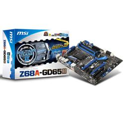MSI,Z68A-GD65-G3,Intel,Z68,(REV,B3),Socket,1155,DDR3,PCI-Express,Motherboard,