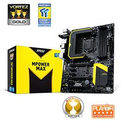 MSI,Z87,MPOWER,MAX,Intel,Z87,(Socket,1150),ATX,Motherboard,