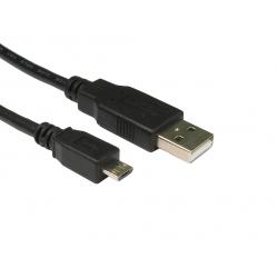 3mtr,USB2.0,A,Male,-,Micro,B,Black,
