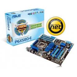 Asus,P6X58D-E,Intel,X58,(Socket,1366),DDR3,PCI-Express,Motherboard,