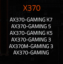 Buy qualifying Gigabyte X370 Motherboards at Aria