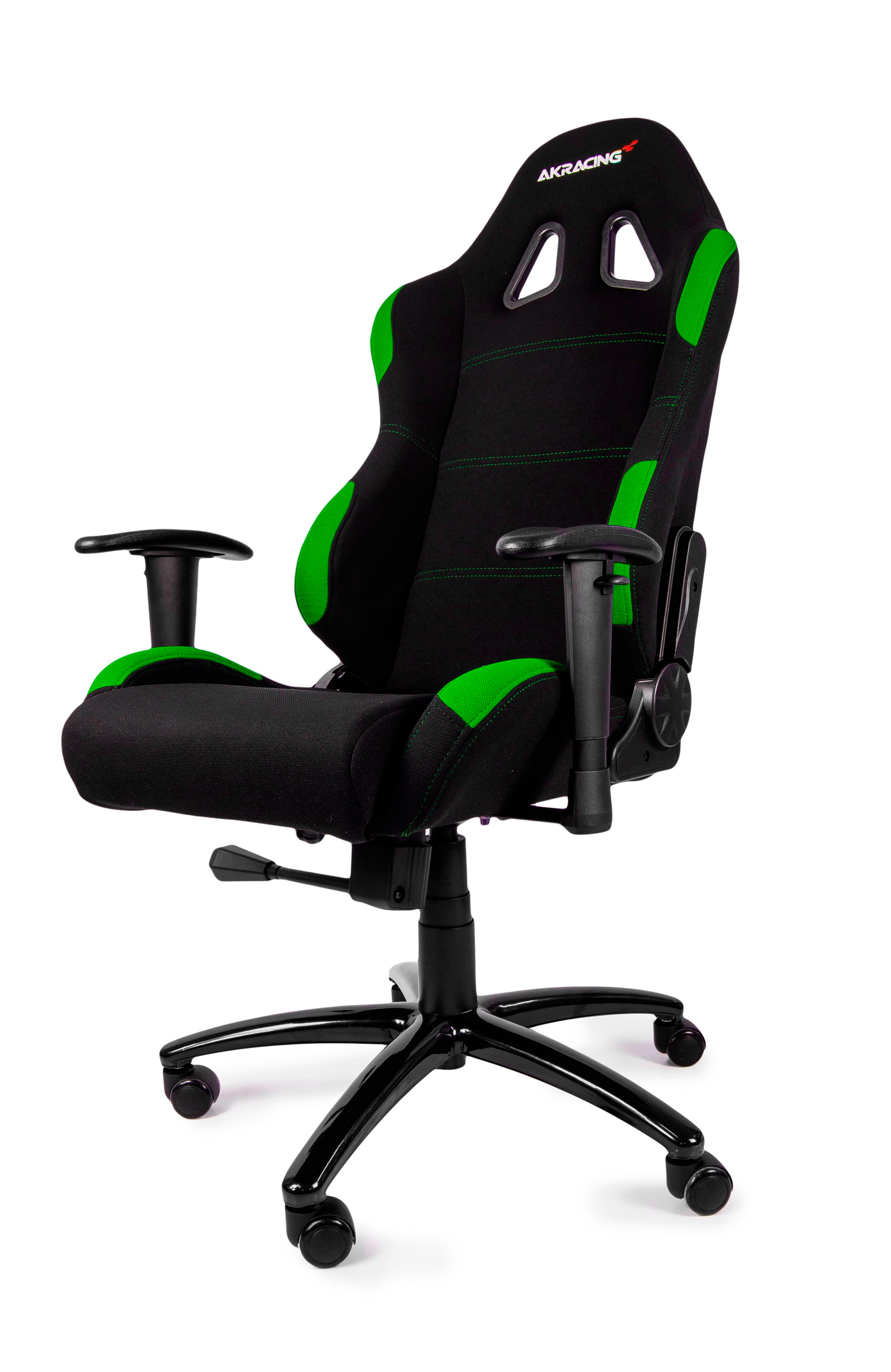 Pleasing Ak Racing Gaming Chair Black Green Aria Pc Machost Co Dining Chair Design Ideas Machostcouk