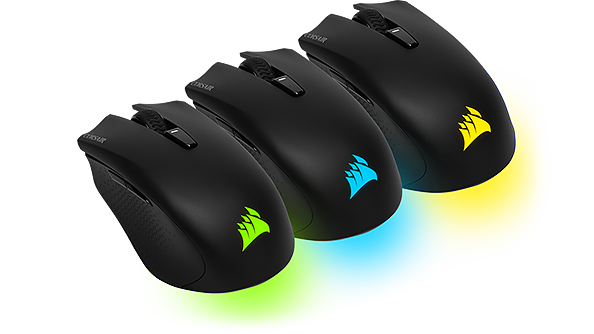 rgb Harpoon wireless mouse