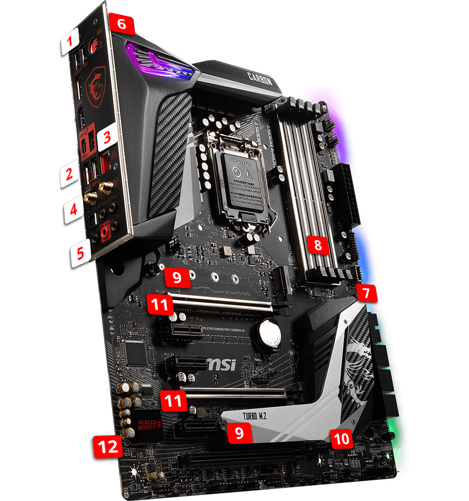 Z390 Godlike features