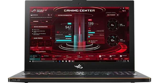 rog gaming centre