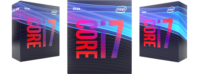 Intel 9th Gen i7 CPU