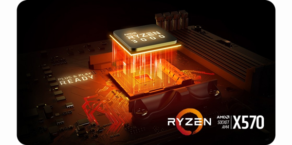 Amd Ryzen 7 3700x Gen3 8 Core Am4 Cpu Processor With Wraith Prism Rgb Cooler Aria Pc