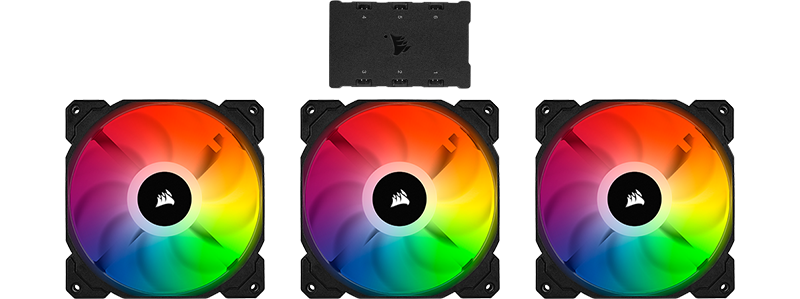 corsair sp120 triple fan kit