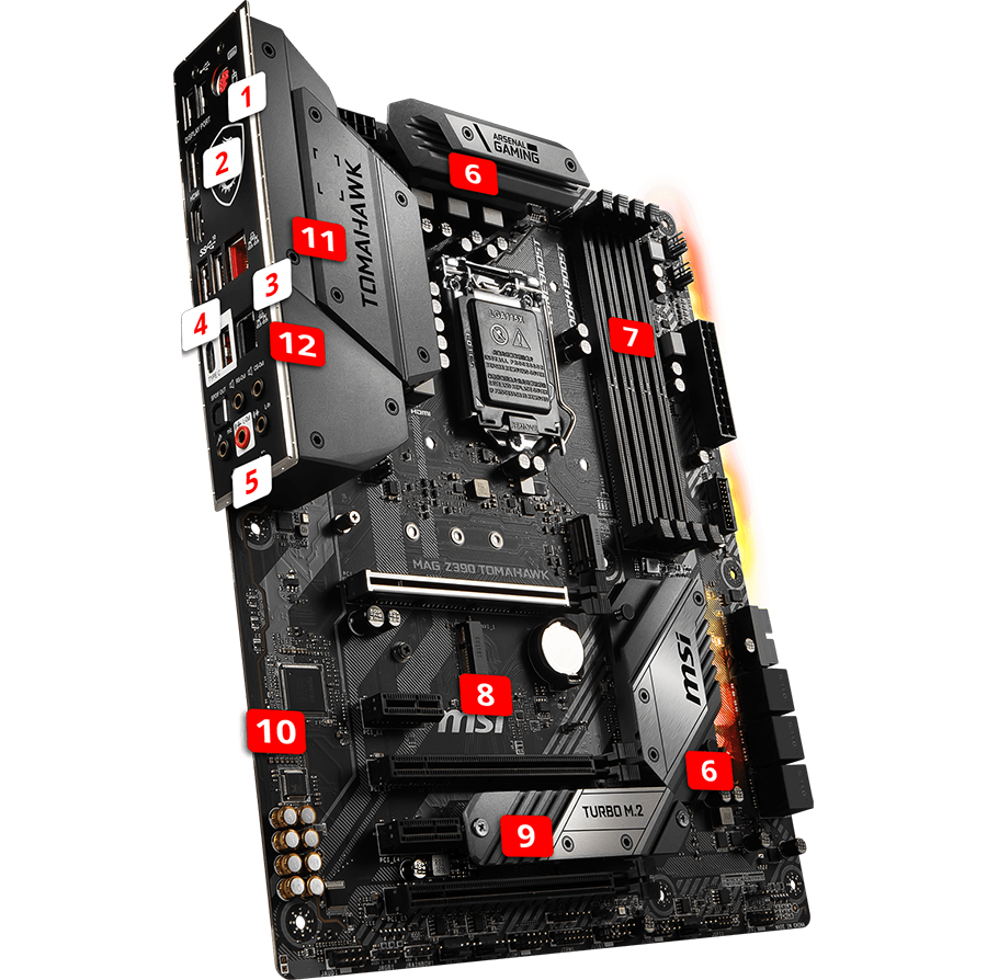 Z390 Gaming Plus features
