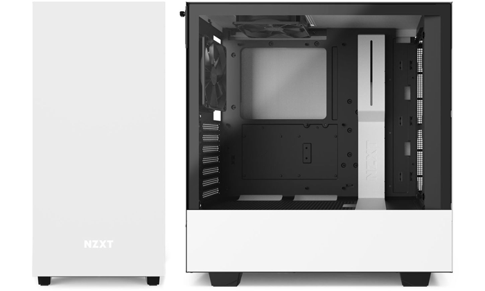NZXT H510 WHITE TEMPERED GLASS CASE
