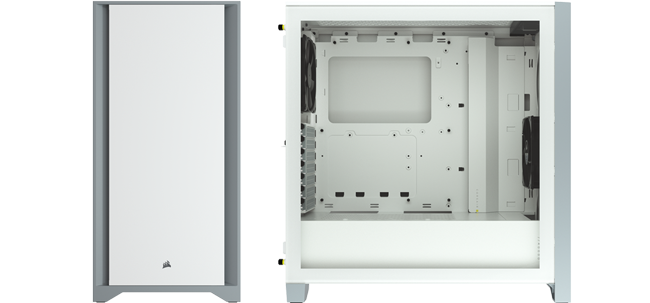Corsair 4000D White Mid Tower Chassis
