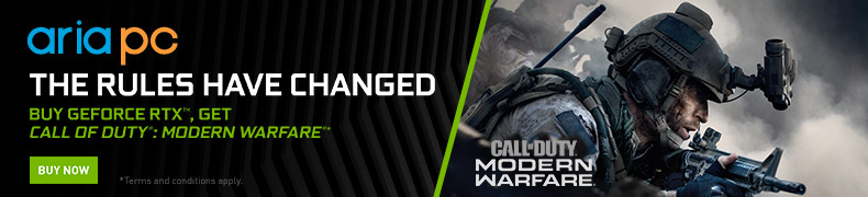 Buy Geforce RTX, Get Call of Duty Modern Warfare